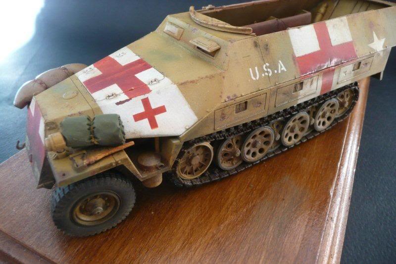 Sdkfz 251/1  Ausf D Tamiya Sdkfz251-37