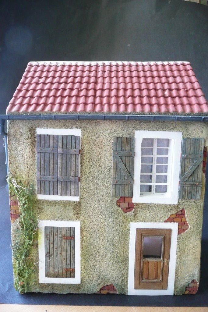 Maison type Normande en carton plume - Page 2 Maison-normande-33
