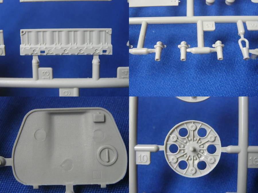 AFV Club's T-34 Factory 112 1942 production, a look inside the box... Details