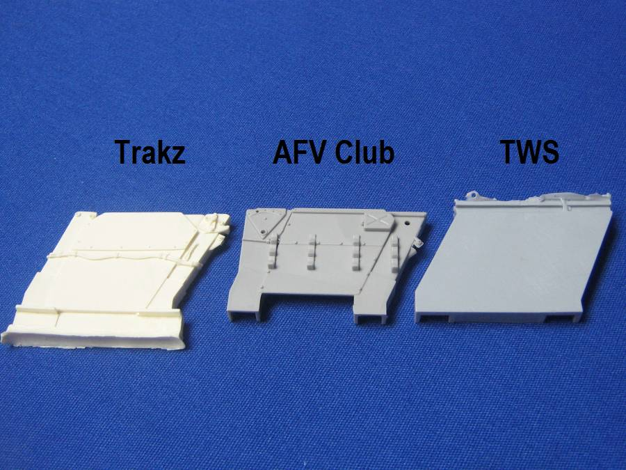 AFV Club's T-34 Factory 112 1942 production, a look inside the box... X
