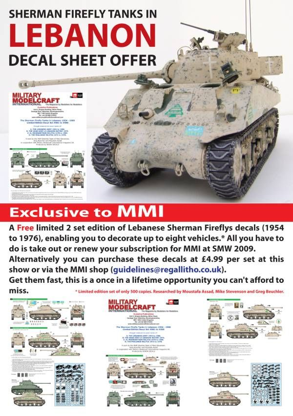 MMI magazine is offering a Lebanese Firefly Decal Special! MMIDecalsrev