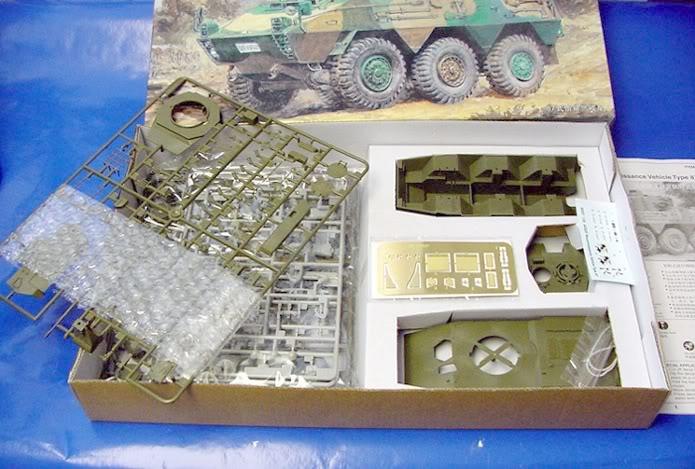 Trumpeter Type 87 JGSDF recon vehicle B_1477_1