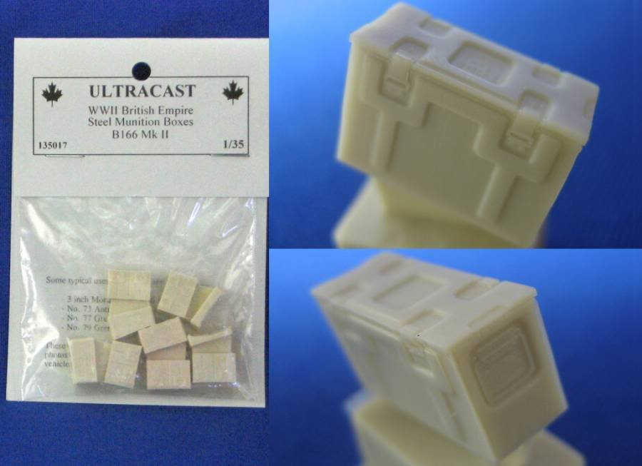 Ultracast British Empire Munition Boxes B166 UC135017