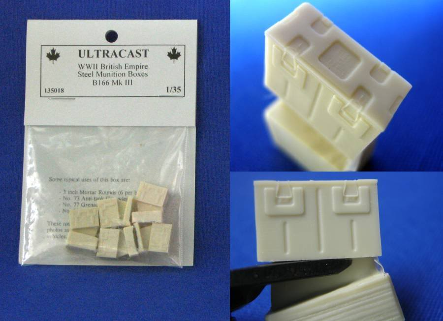 Ultracast British Empire Munition Boxes B166 UC135018