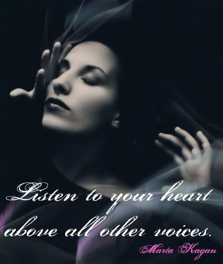 listen to your Heart Pictures, Images and Photos
