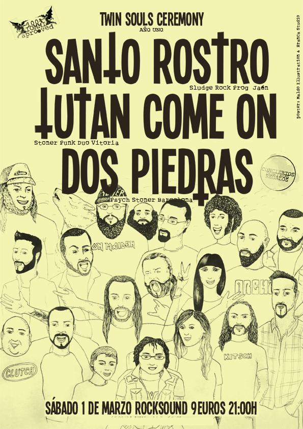 Santo Rostro + Tutan Come On + Dos Piedras - Barcelona WEB1_zps0e324557