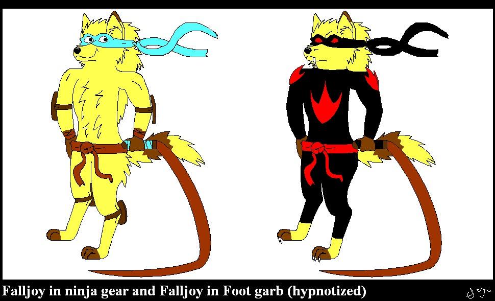 TMNT: A Wolf Among Us reference art Falljoyreferencesheet