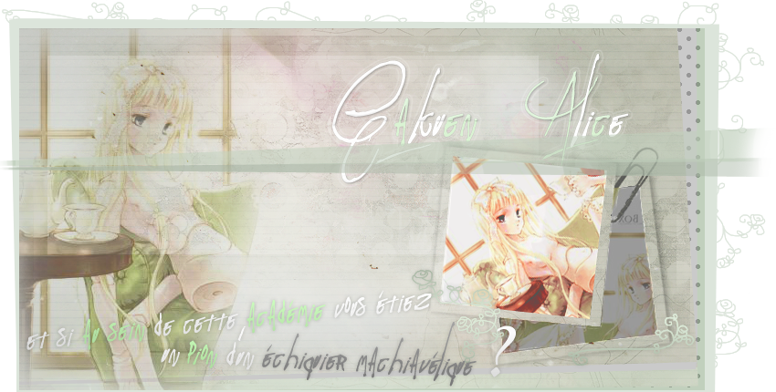 • Gakuen Alice RPG •