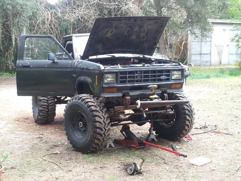 V8 Ranger Mud Truck 20130109_132258