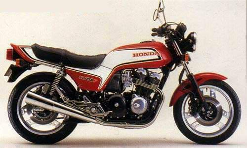 Show us your biking history in pics HondaCB750F811