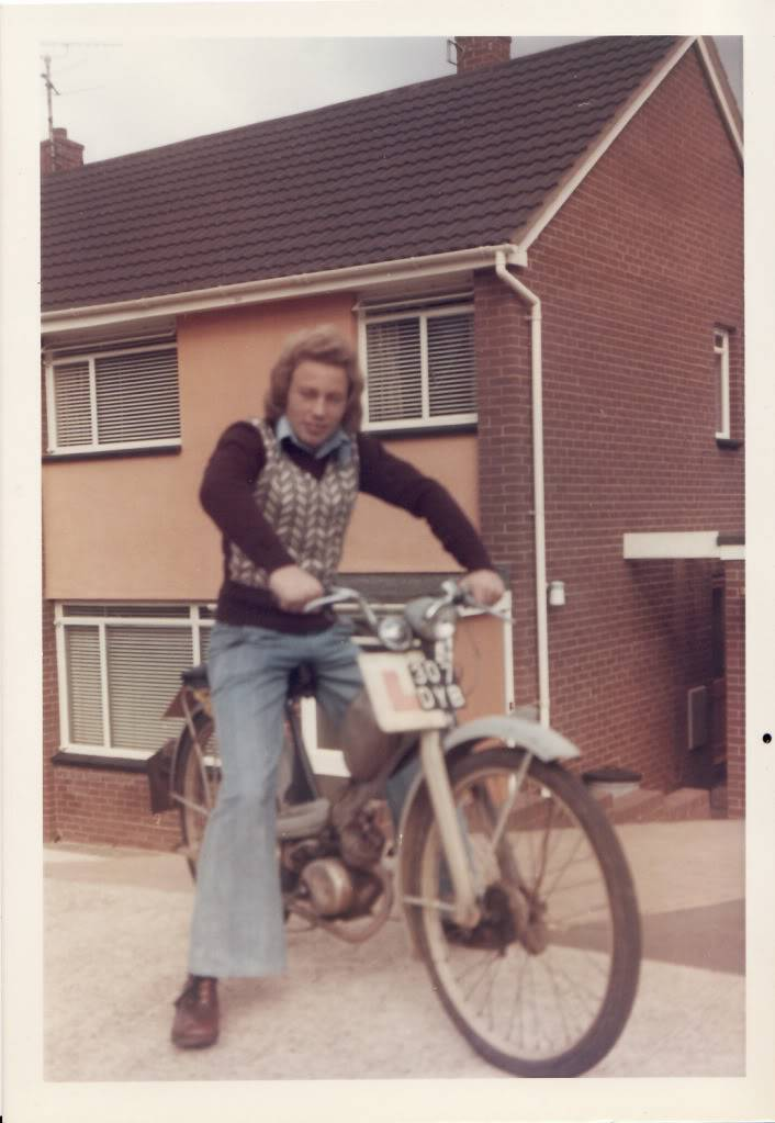 Show us your biking history in pics Tony1974NSUQuickly