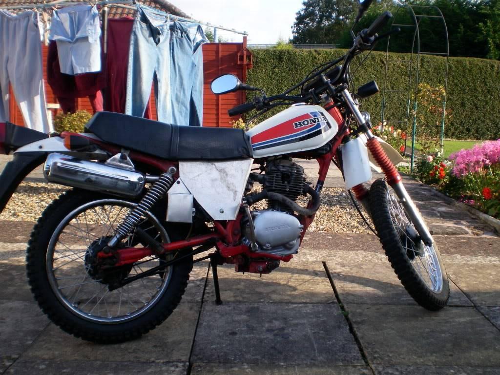 Honda XL100 Autumn017