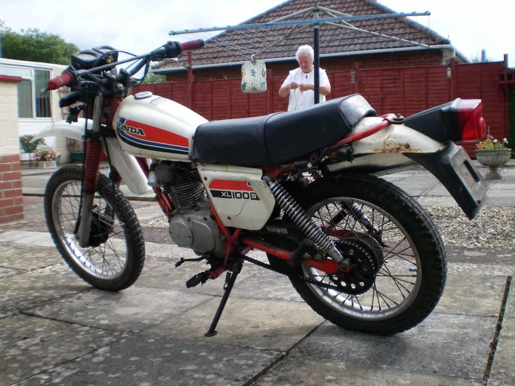 Honda XL100 HondaXL100S011-1