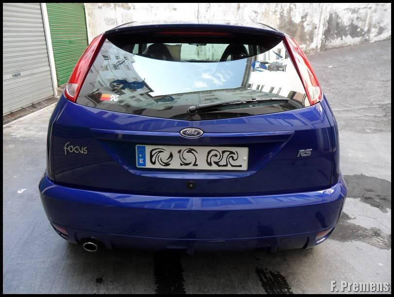 Detallado Exterior Ford Focus RS MK I SAM_1255