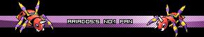 Pokemon Userbars AriadossNo1Fan