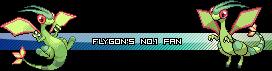 Pokemon Userbars FlygonsNo1Fan