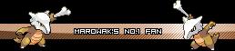 Pokemon Userbars - Page 2 MarowaksNo1Fan