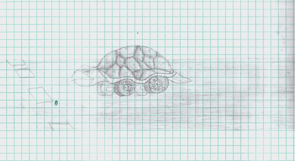 Your very own art - Page 3 TurtleCar