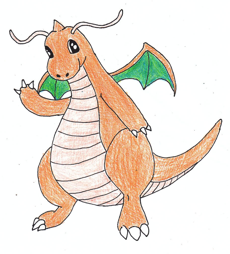 Your very own art - Page 6 Dragonite