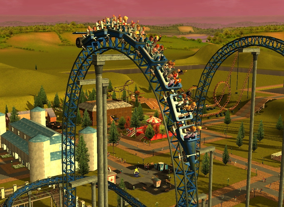 My Roller Coaster Tycoon pictures / Discussion Thread Rctscreenchot_6