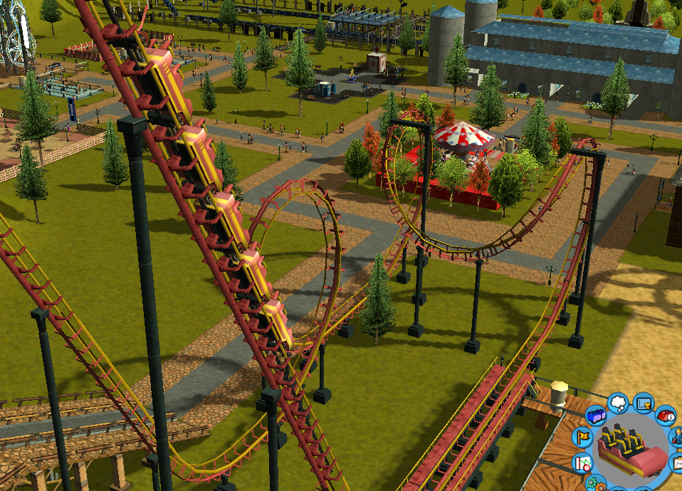 My Roller Coaster Tycoon pictures / Discussion Thread Rctscreenchot_7