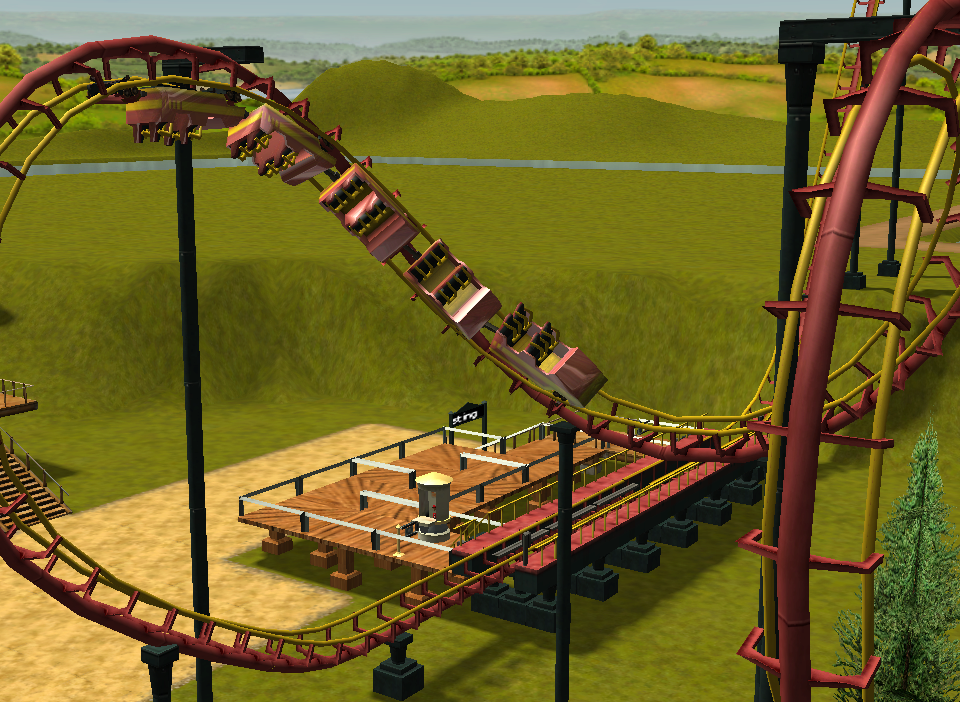 My Roller Coaster Tycoon pictures / Discussion Thread Rctscreenchot_8