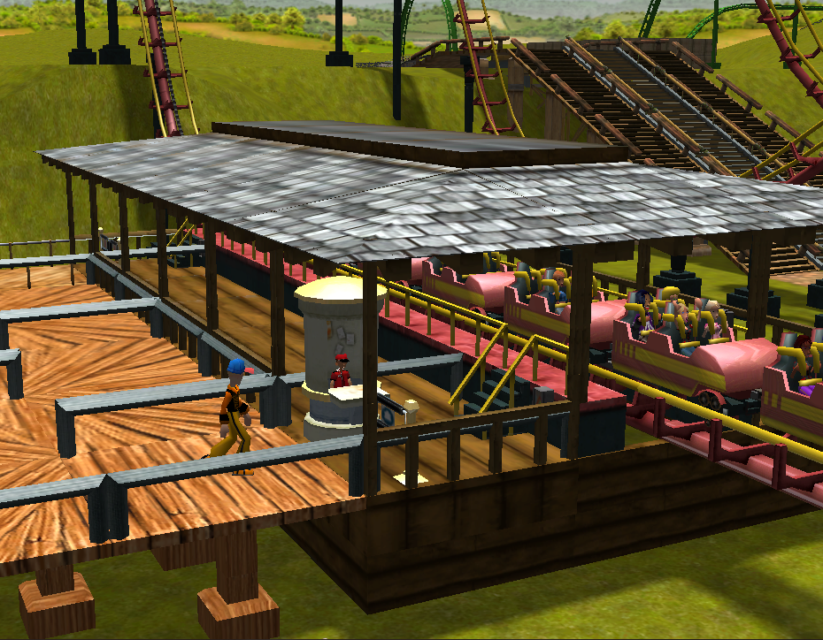 My Roller Coaster Tycoon pictures / Discussion Thread Rctscreenshot_9