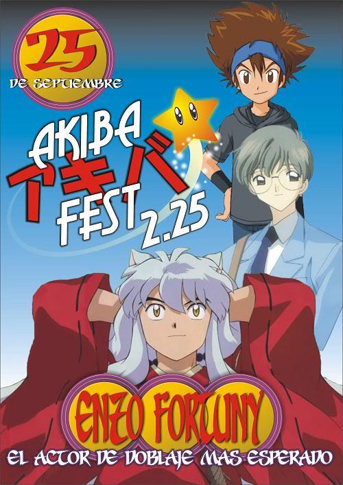 KOUJI WADA invitado especial del AKIBA FEST Akiba225Bchico