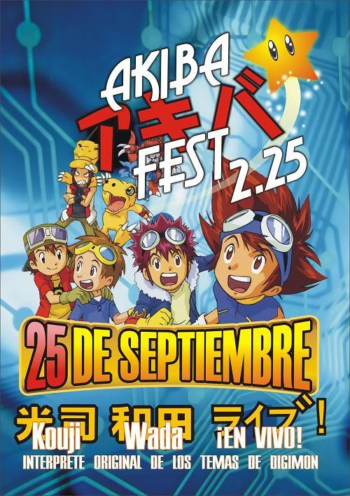 KOUJI WADA invitado especial del AKIBA FEST Akiba225chico