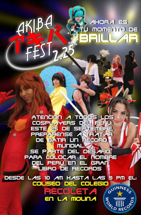 KOUJI WADA invitado especial del AKIBA FEST Akibafestcosplay
