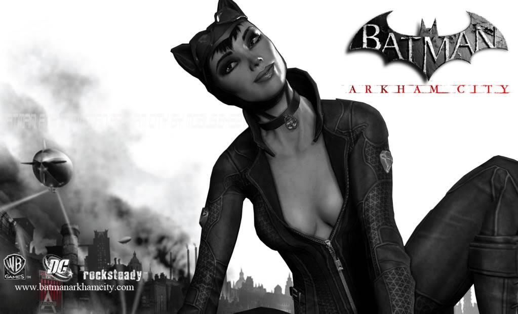 Batman: Arkham Asylum/Arkham City CatwomanBatmanArkhamCity