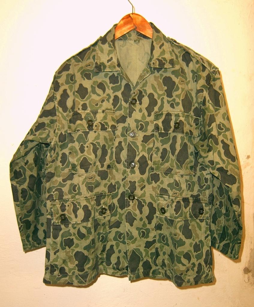 South Korean Duck Hunter HBT Cotton Jacket dated 1969 01_zpspibmig1h