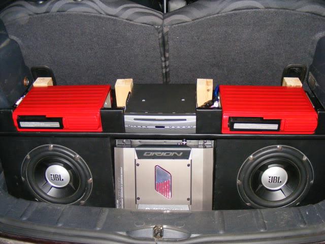 Nicola's stereo upgrade  DSCF2011