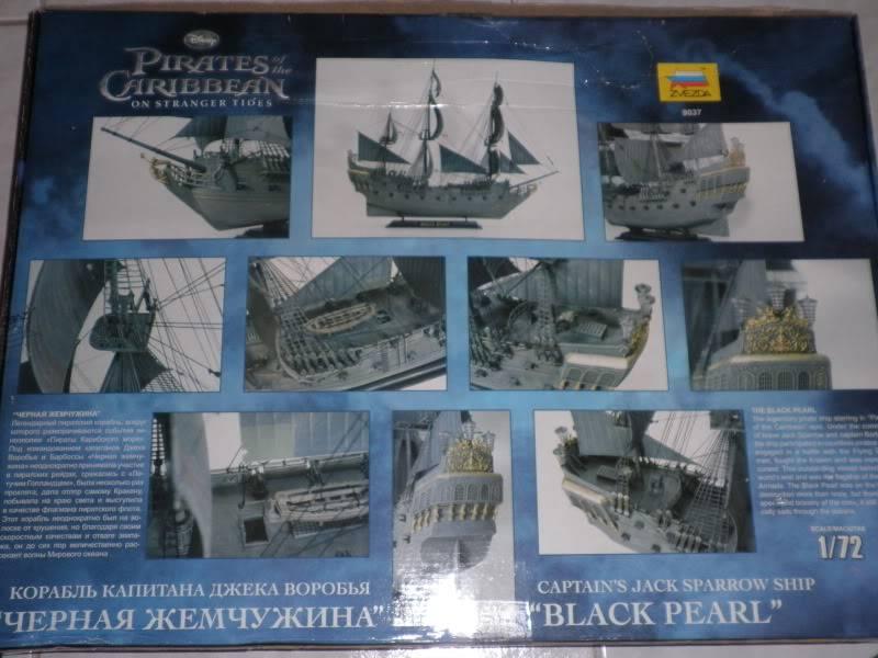BLACK PEARL 1/72 ZVEZDA P1090035