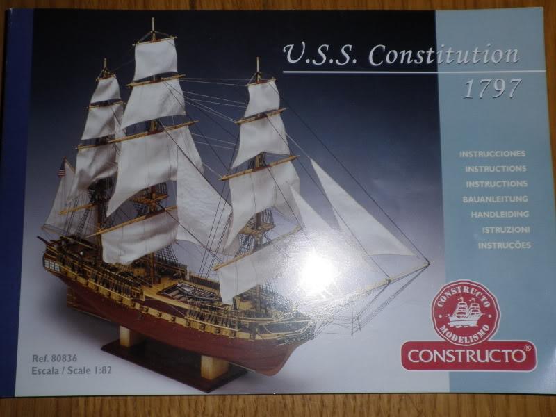 USS CONSTITUTION Contructo ech 1/82 P9200067