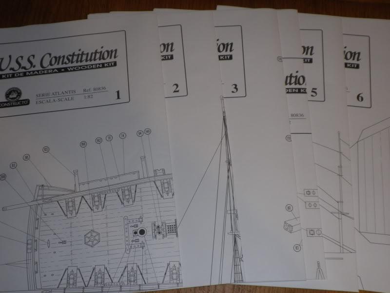 USS CONSTITUTION Contructo ech 1/82 P9200068