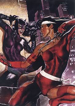 Nouveau Jeu - DC vs Marvel : AMALGAM COMICS ! Catwomanelektra