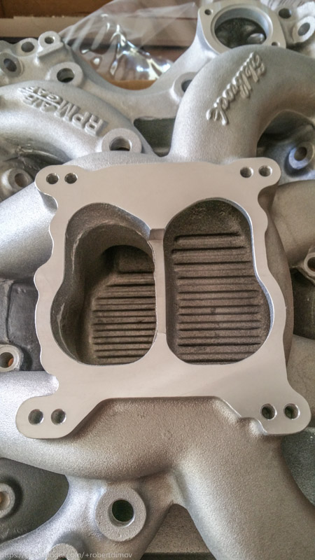 Just some shots of Edelbrock RPM Air-Gap 7566 - and my older Victor Bigblock 20161107_170706_zpsodn4ozbd
