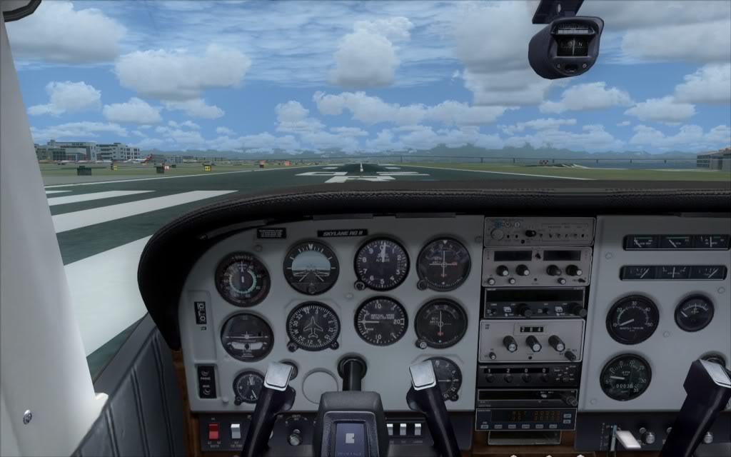Novo AP no Cessna 182Q da Carenado ALEALB-PC-2009-dec-29-001