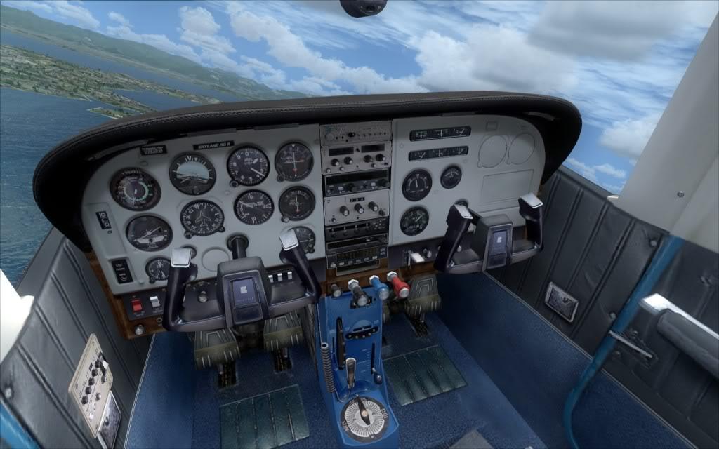 Novo AP no Cessna 182Q da Carenado ALEALB-PC-2009-dec-29-002