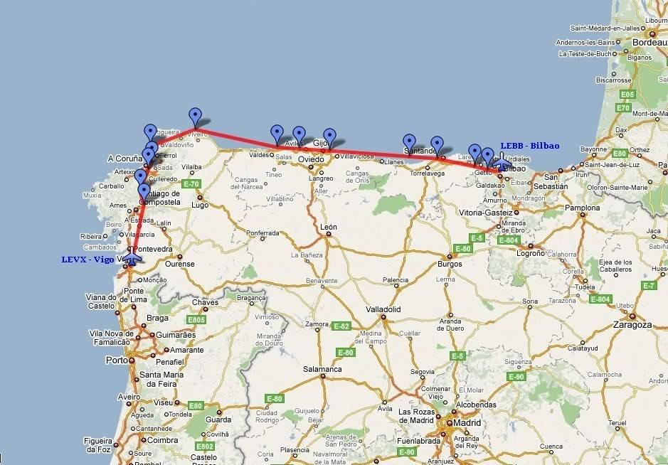Fsx Tour Portugal Espanha Bilbao Vigo Parte 1 2