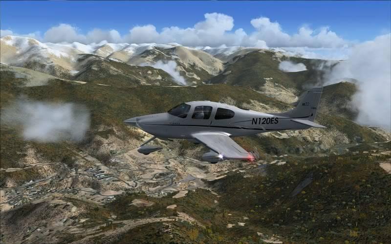 agora virou um tour - voando nos Pirineus - de Girona para La Cerdana - Cirrus EagleSoft Girona-2008-sep-7-020