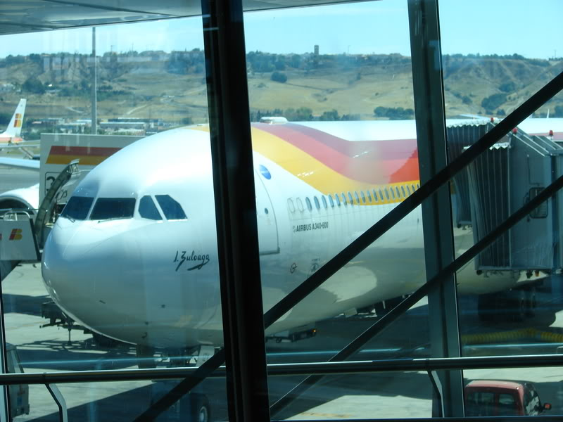 [REAL] - Rio - Madri - Lisboa - parte 2/2 - volta  A340 600 - Ibéria DSC00149