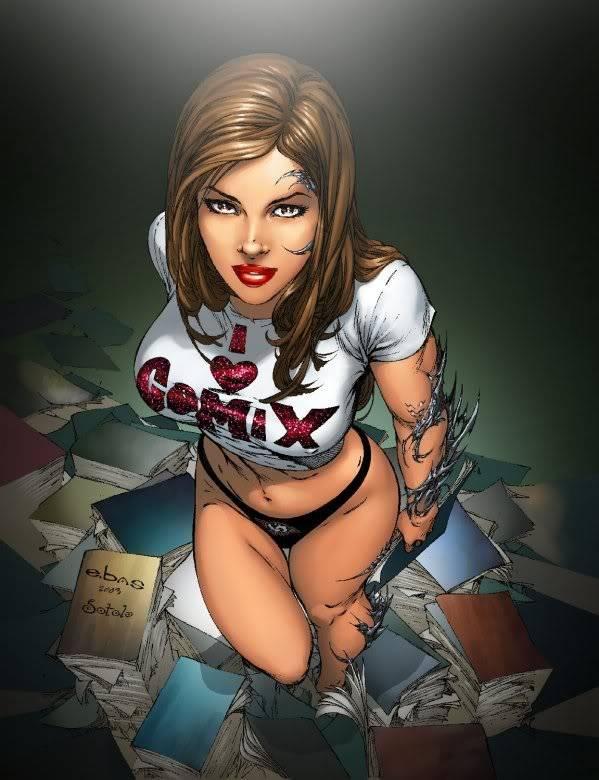 Comic art I_heart_comics_wb55