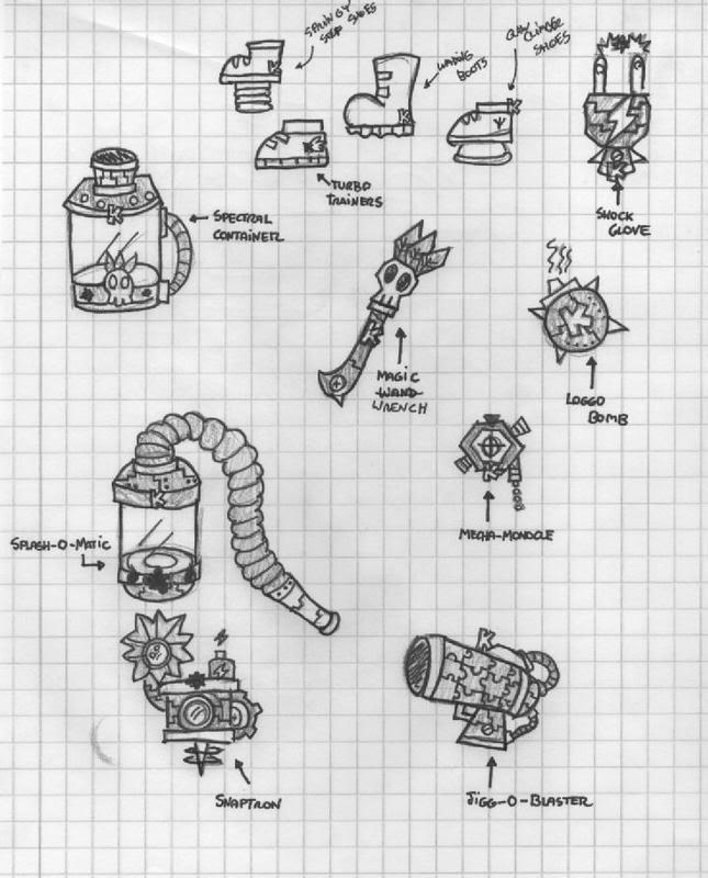 Ideas for Gadgets BK-Gadgets