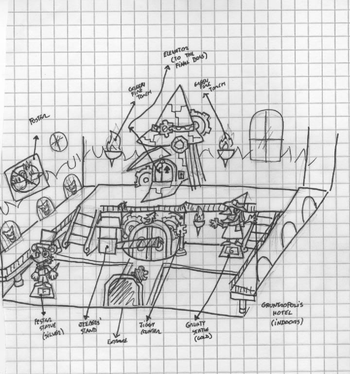 Viku\'s Concept Art Database GruntHotelIndoorModel