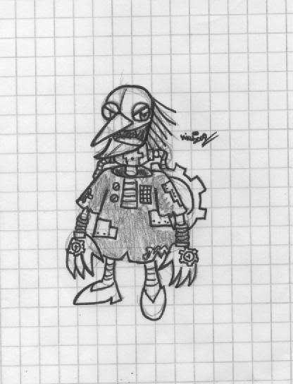 Viku\'s Concept Art Database Grunty-Mecha-Body