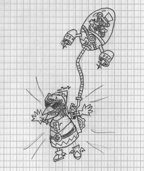Viku\'s Concept Art Database Gruntyranger