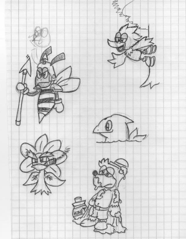 Characters of Honeybee Mountain (Concept Artists' & Brainstormers Come in here!) HBM-charas