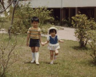 Ảnh thơ ấu của anh em Tạ Đình Phong Nicjen02